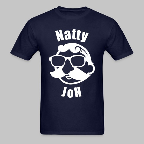 Natty Joh T - Blue (Standard) - Men's T-Shirt