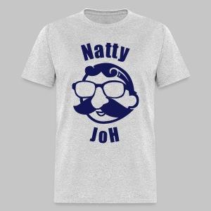 Natty Joh T - Gray (Standard) - Men's T-Shirt