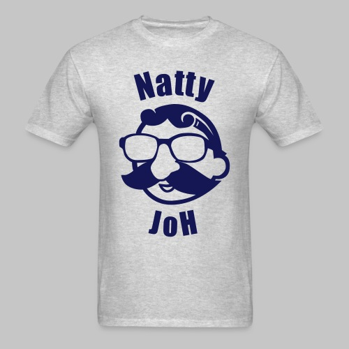 Natty Joh T - Gray (Standard) - Men's T-Shirt