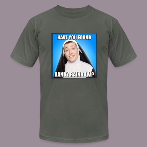 HAVE YOU FOUND RR? MEN'S AMERICAN APPAREL T - Men's  Jersey T-Shirt