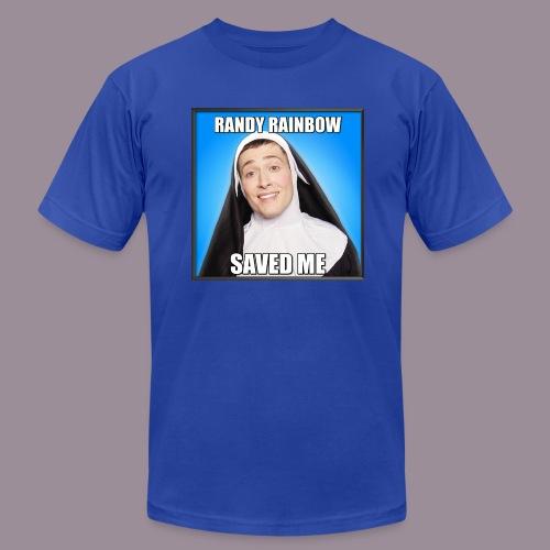 RR SAVED ME MEN'S AMERICAN APPAREL T - Men's  Jersey T-Shirt