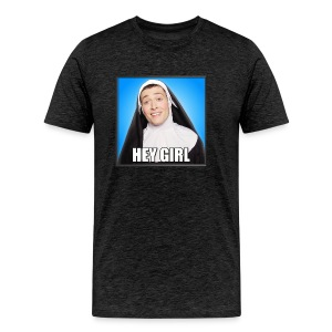 HEY GIRL MEN'S T - Men's Premium T-Shirt
