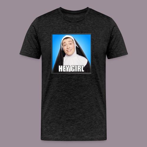 HEY GIRL MEN'S T - Men's Premium T-Shirt