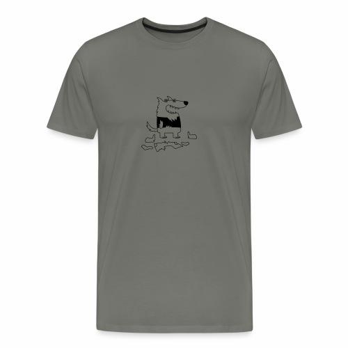 Werewolf - Men's Tee - Men's Premium T-Shirt