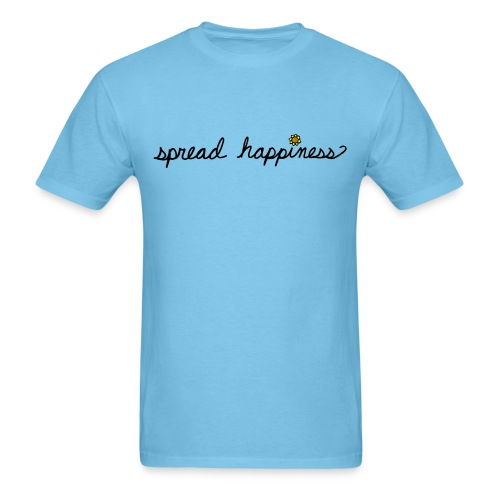 Spread Happiness Men T-Shirt - Men's T-Shirt