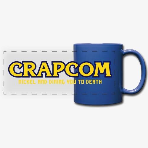 Crapcom Mug - Full Color Panoramic Mug