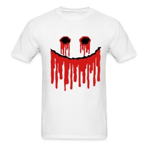 Halloween Smiley Slasher Face - Men's T-Shirt