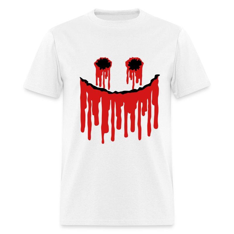 Halloween Smiley Slasher Face - Men's T-Shirt