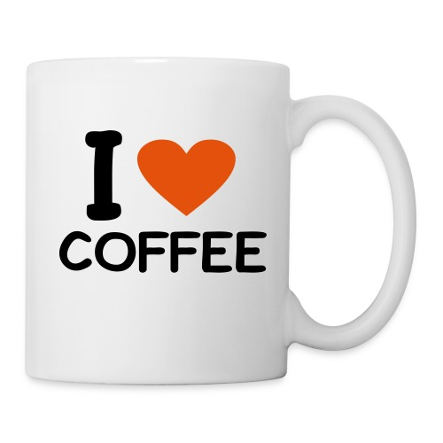I LOVE COFFEE MUG - Coffee/Tea Mug