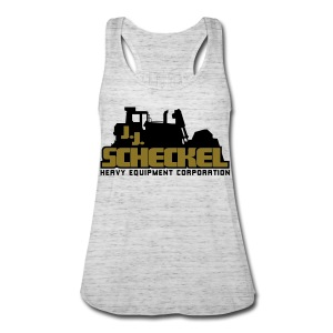 Metallic Gold JJ Scheckel Women's Flowy Tank - Women's Flowy Tank Top by Bella
