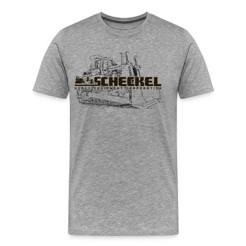 JJ Scheckel Dozer Drawing Men's Tshirt - Men's Premium T-Shirt