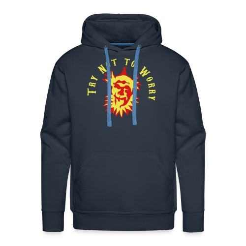 Try Not to Worry - Men's Premium Hoodie
