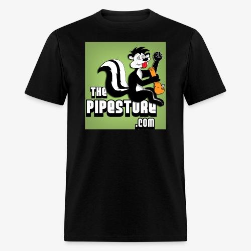 the pipe store retro black skunk - Men's T-Shirt