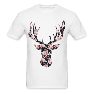 T-Shirts ~ Men's T-Shirt ~ ROSE STAG - MENS TSHIRT