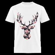 T-Shirts ~ Men's T-Shirt ~ ROSE STAG - MENS TSHIRT