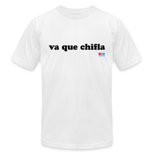 Chifla (Man Black Font) - Men's  Jersey T-Shirt