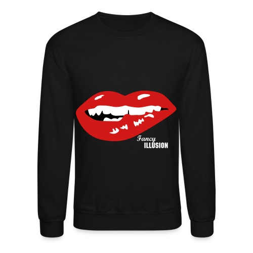 Lip Biting Animal - Crewneck Sweatshirt