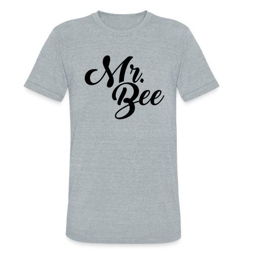 Mr Bee Tee - Unisex Tri-Blend T-Shirt
