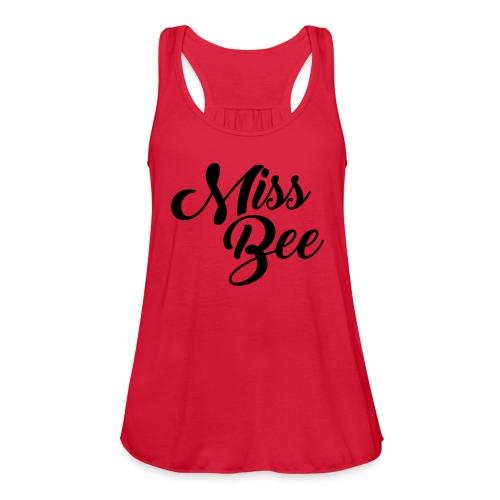 Miss Bee Tank Top - Women's Flowy Tank Top by Bella