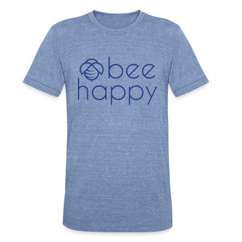 Bee Happy Tee - Unisex Tri-Blend T-Shirt