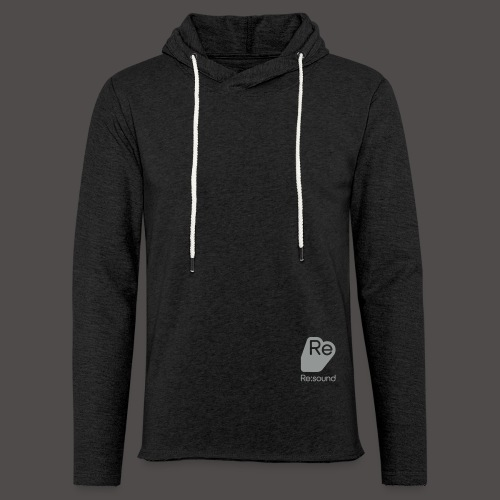 Re:Sound Music - Lightweight Hoodie (With logo) - Unisex Lightweight Terry Hoodie