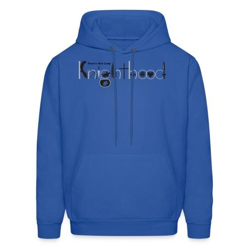 Knighthood Logo (Grey) Men's Hoodie - Men's Hoodie
