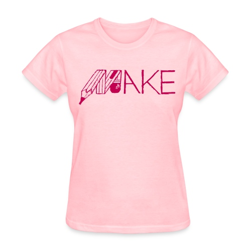 Make, Women's T - Women's T-Shirt
