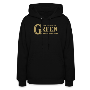 The Legend of Green - Womens Hoodie - Women's Hoodie