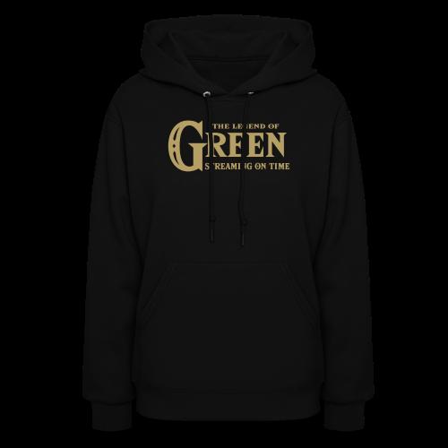 The Legend of Green - Womens Hoodie - Women's Hoodie