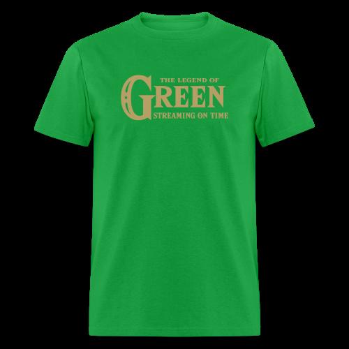 The Legend of Green - Mens T-Shirt - Men's T-Shirt