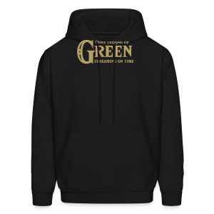 The Legend of Green - Mens Hoodie - Men's Hoodie