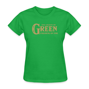 The Legend of Green - Womens T-Shirt - Women's T-Shirt
