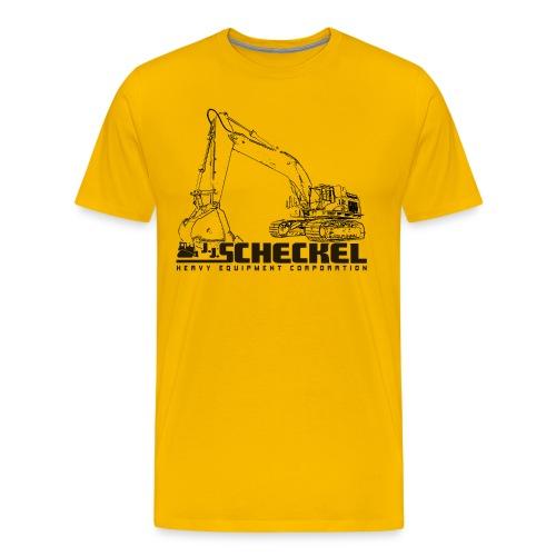 JJ Scheckel Excavator Men's Premium Tshirt - Men's Premium T-Shirt