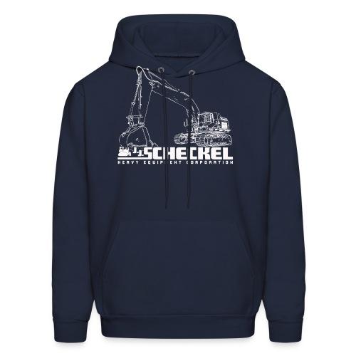 JJ Scheckel Excavator Men's Hoodie - Men's Hoodie