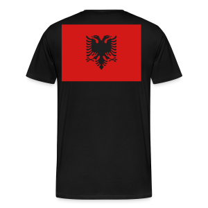The right choice for Albania - DELUXE edition (2 sided!) - Men's Premium T-Shirt