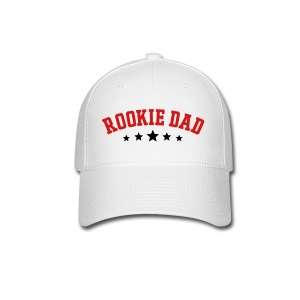 Rookie Dad T-shirt  - Baseball Cap