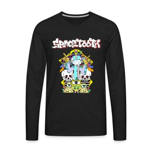 Spactooth Caover art long sleeve  - Men's Premium Long Sleeve T-Shirt