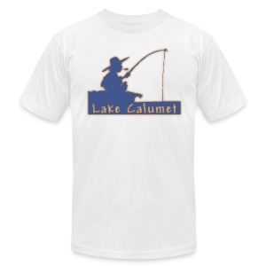 Lake Calumet - Men's T-Shirt by American Apparel