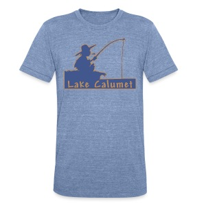 Lake Calumet - Unisex Tri-Blend T-Shirt by American Apparel