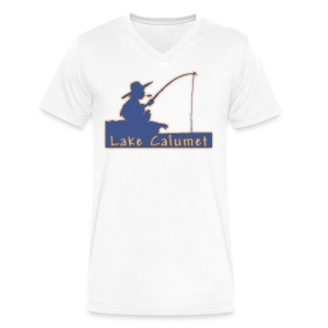 Lake Calumet - Men's V-Neck T-Shirt by Canvas