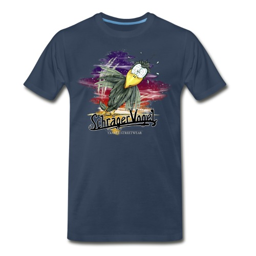 Schräger Vogel - Men's Premium T-Shirt