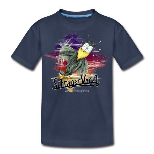 Schräger Vogel - Kids' Premium T-Shirt