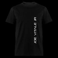 T-Shirts ~ Men's T-Shirt ~ Joe Vitale Jr (Verticle) T-Shirt (Dark Matter Black)