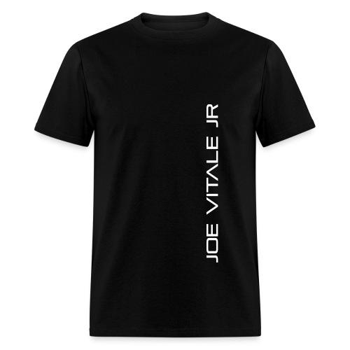 Joe Vitale Jr (Verticle) T-Shirt (Dark Matter Black) - Men's T-Shirt