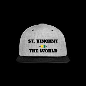 St. Vincent and the Grenadines -vs- The World - Snap-back Baseball Cap