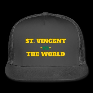 St. Vincent and the Grenadines -vs- The World - Trucker Cap