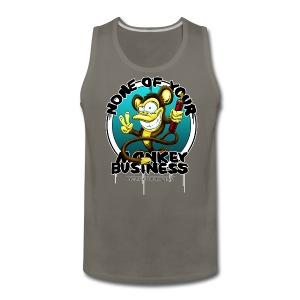 no monkey business - Men's Premium Tank
