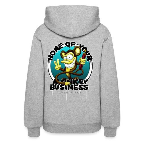 no monkey business - Women's Hoodie