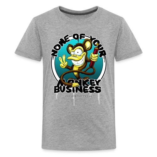 no monkey business - Kids' Premium T-Shirt