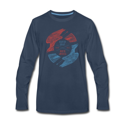 DG_Hawk_Mens_longsleeve - Men's Premium Long Sleeve T-Shirt